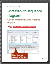 wireshark to sequence diagram - visualether user manual